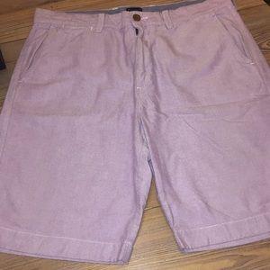 J. Crew Club Lavender Oxford Shorts - Size 34